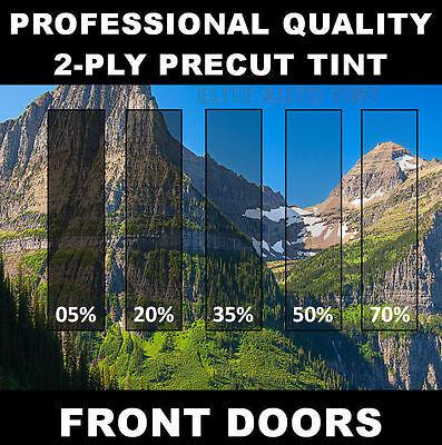 Chevy 1500 Silverado Crew Cab Precut Front 2 Doors Window Tint (Year Needed)