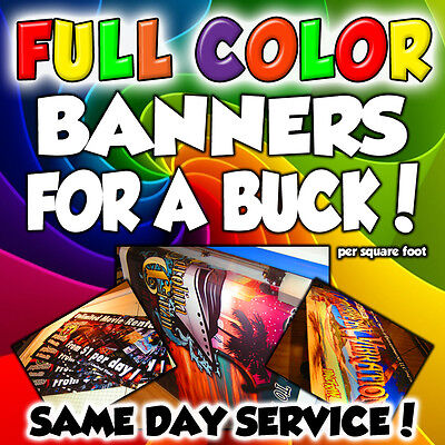 Retractable Pop-Up Banner Stand - INCLUDES PRINT -  Same Day Shipping - WARRANTY