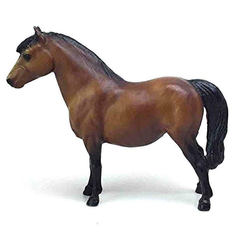 "Breyer Molding Co Brown Standing Horse Figurine Vtg Pony 7x6"" Figure Toy Model"
