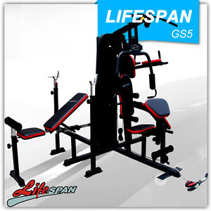 NEW SEMI COMMERCIAL GRADE MULTI STATION HOME GYM FITNESS