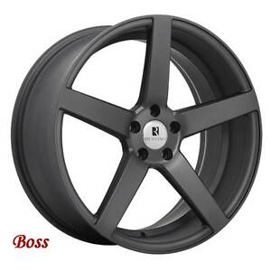 Roues (Mags) Ruffino Boss Anthracite 16 à 19 pouces