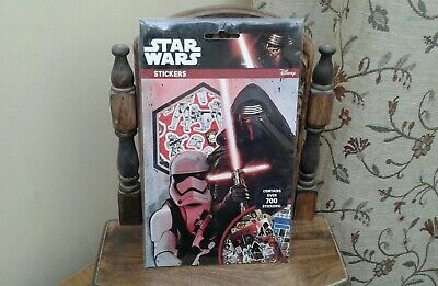 STAR WARS...STICKERS....(OVER 700 STICKERS!)....NEW...LucasFilm..Disney..