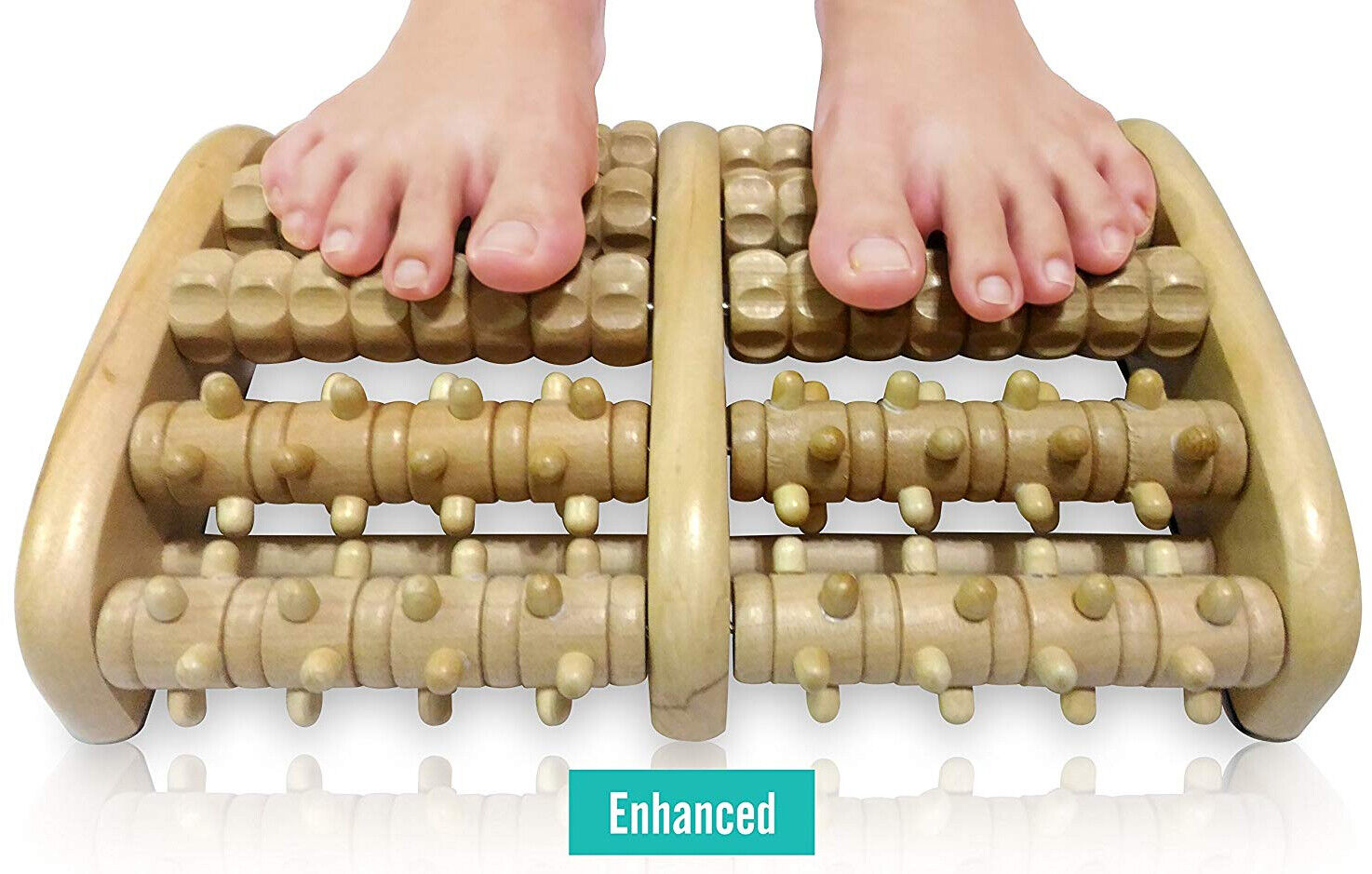 TheraFlow Dual Foot Massager Roller  - Relax and Relieve Foo