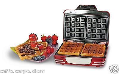 ARIETE 187 Waffle Maker Party Time - Macchina per waffles bakers piastra