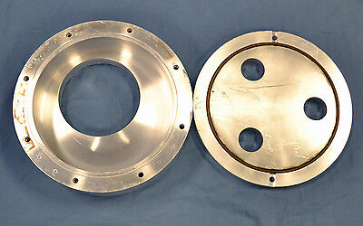 Varian Mdc Custom High Vacuum Reducer 10 To 8 Od Conflat Connectors Chamber