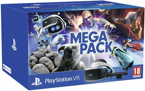 Sony PlayStation VR Mega Pack 5 Five Game Bundle Virtual Reality PS4   CUH-ZVR2