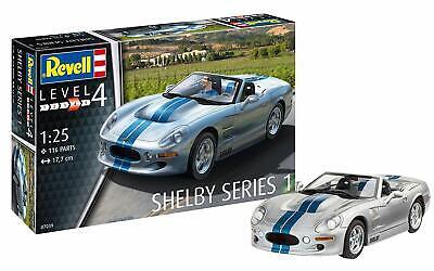 "Revell 12 Modellbausatz 07039 ""Shelby Series I"", Auto im Maßstab 1:25, Level 4,"
