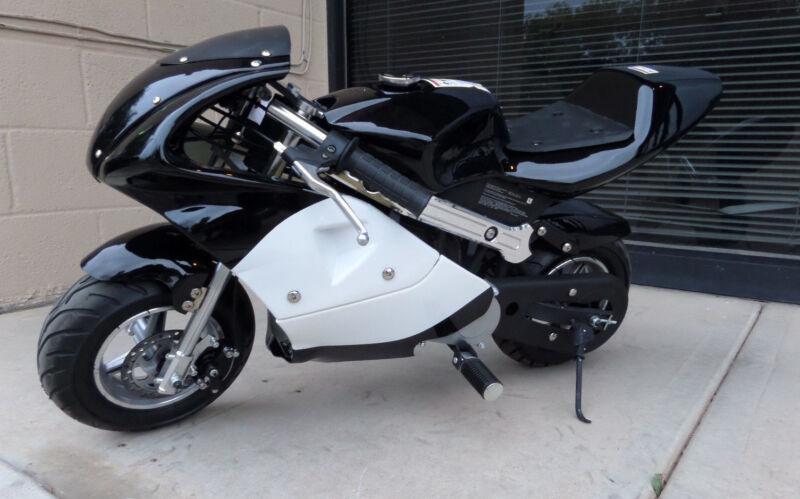High Performance Honda clone  4 Stroke 40cc Black Pocket Mini Bike