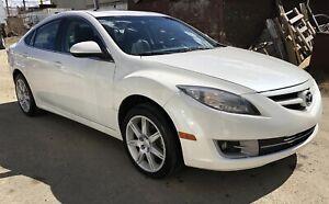 2013 Mazda 6 GS-L white pearl LOW KM w/ remote start