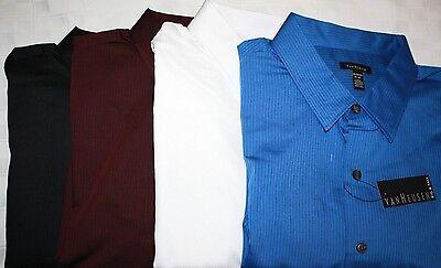 Van Heusen Big & Tall Mens LS Dress Shirts, Assrtd Sizes/Colors, NWT MSRP (Van Heusen Big And Tall Dress Shirts)