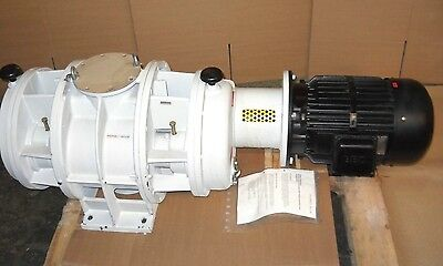 Pfeiffer Wkp 2000 Roots Vacuum Pump Blower Pp-w02-076-k519 New Condition
