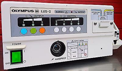 Olympus Ultrasonic Lithotriptor Lus-2 Easy-load Masterflex 7518-00 Free Shipping