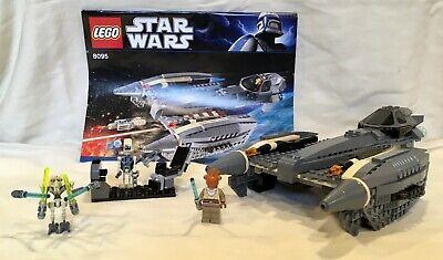 Lego General Grievous' Starfighter 8095 100% Pieces, Mini-figures & Manual