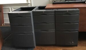 Metal Filing Cabinet + Other Office Furniture