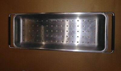 8cc84 Stainless Steel Strainer Commercial Deep Fryer 21-38 Long Overall