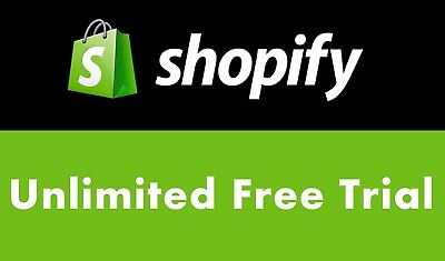 Shopify Unlimited Trial With All Features And Apps