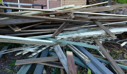 Treated pine decking recycled - satisfactory condition