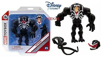 "Disney Store Marvel Avengers VENOM Action Figure #21 Toybox Spiderman 5.5"" H NEW"
