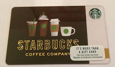 Starbucks Coffee Company 2017 Summer Drink Line Up Gift Card
