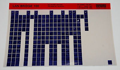 Dec Lan Bridge 100 Network Bridge Technical Manual  Microfiche