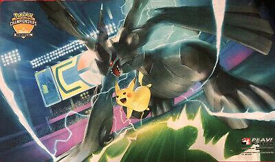- Brand New - Exclusive Pokemon Regional Playmat - Pikachu & Zekrom - Playmats