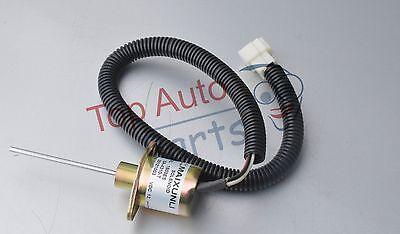 Fuel Shutdown Solenoid Valve SA-4310-T 1503ES-12A5UC9SCC28 For Kubota Excavat 12