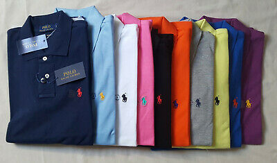 Ralph Lauren Mens Short Sleeve Polo and Crew T-Shirt