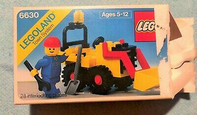 LEGO Set #6630 Bucket Loader (1980) - Vintage Legoland Town System, Used