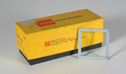 "Kodak Metal Slide Binders for 2"" x 2"" slides  -  34 pcs"