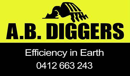 AB DIGGERS-Efficiency In Earth Newcastle 2300 Newcastle Area Preview
