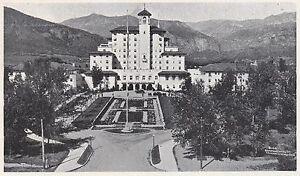 D2742 Colorado - Hotel Broadmoor - Stampa d'epoca - 1922 vintage print - Italia - L'oggetto può essere restituito - Italia
