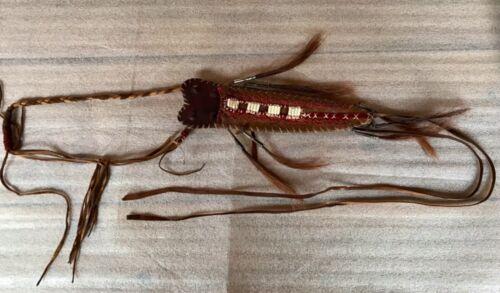 Old Impressive Native American Knife Sheath Indian