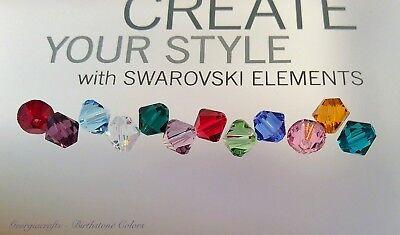 Swarovski® Crystal - #5328 6mm Bicones - BIRTHSTONE COLORS - Choose 12 or 36 PC ()