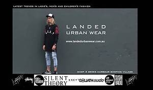 Landed Urban Wear- On trend clothing Store Package ready to move Banksia Beach Caboolture Area Preview