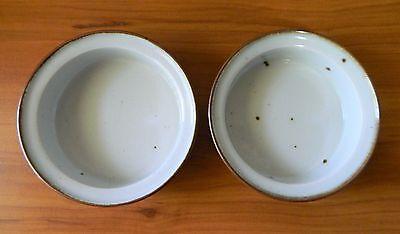 Set of 2 Dansk BROWN MIST Soup Cereal Bowls 5 7/8