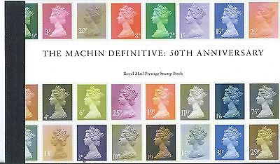 GREAT BRITAIN 2017 THE MACHIN DEFINITVE PRESTIGE BOOK UNMOUNTED MINT