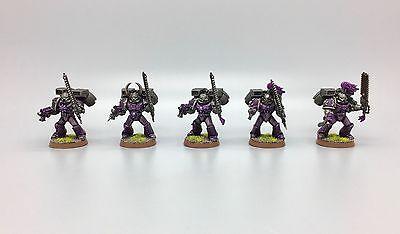 Warhammer 40,000 Chaos Espacio Marines Asalto Squad Raptors Emperadores Infantil, usado segunda mano  Embacar hacia Spain