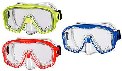 BECO Kinder Tauchermaske Taucherbrille Bahia 12+ gelb / rot /