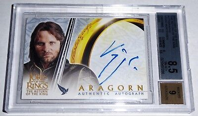 Lord of the Rings Return of the King Autograph VIGGO MORTENSEN Sig Aragon 2003