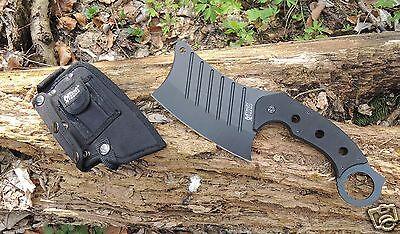 MTECH Xtreme Cleaver Messer Axt Beil Campingaxt Campingbeil 440C Stahl MX8097
