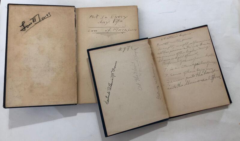 LOIS MAILOU JONES & GERTRUDE PARTHENIA McBROWN SIGNED BOOKS AFRICAN AMERICAN ART