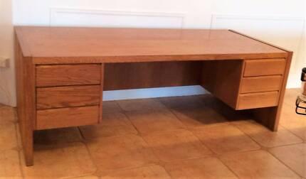 custom built executive desk
