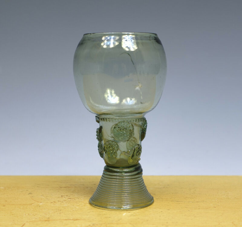 Antique Dutch/German Glass Roemer 17TH C.