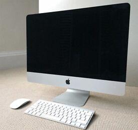 "Digital designer selling perfect condition 21.5"" iMac - good processor and memory"