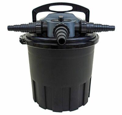 AquaForte CBF 12000 Filtro Estanque Presión 12000l 24 Vatios UV Carificador Con