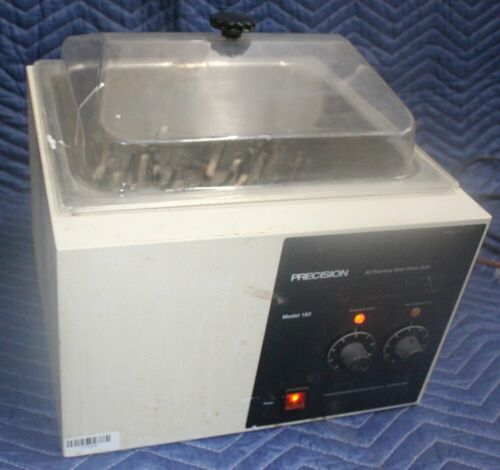 Precision Scientific 183 Water Bath With Cover And Tube Rack