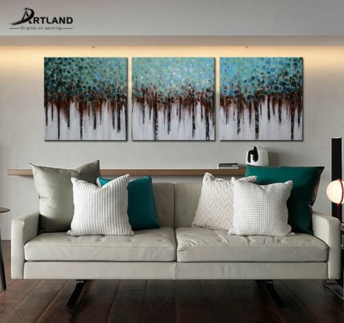 Купить Modern Large Hand-painted Art Oil Painting Abstract Wall Decor Canvas (No Frame)