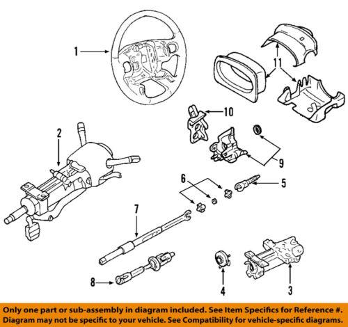 GM OEM Steering Column-Angle Position Sensor 15231656