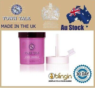 Jewellery - Town Talk jewel Sparkle Dip 225ml Jewellery Gold Precious Stones Cleaner UK Made