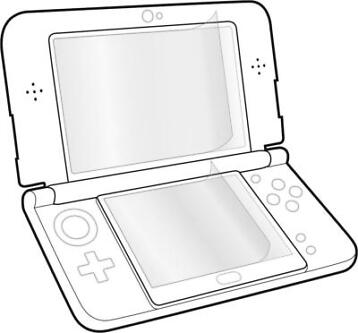 3DS Screen Protection Kit for NEW 3DS, GLANCE, Speedlink